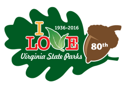 80th anniversary logo - State Parks